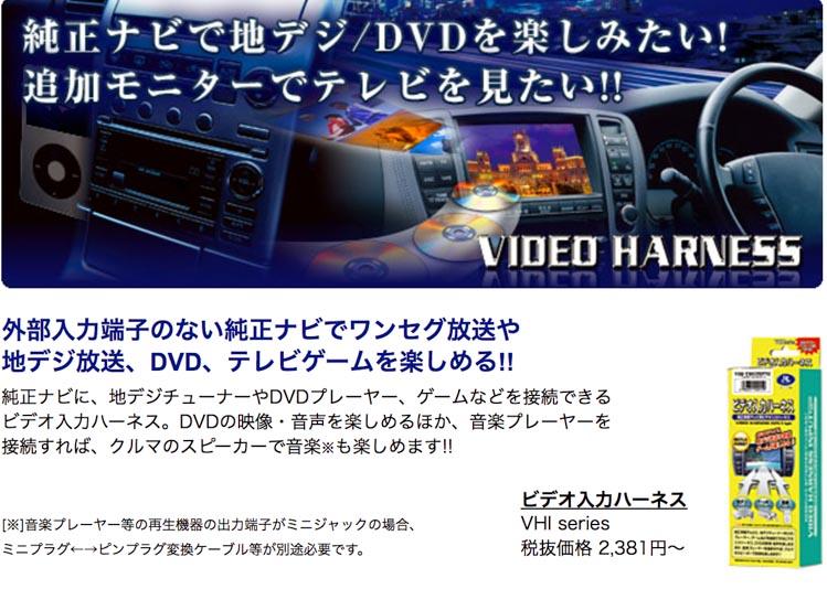 ビデオ入力ハーネスの画像