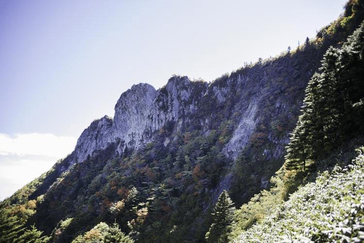 土小屋ルート天狗岳の画像